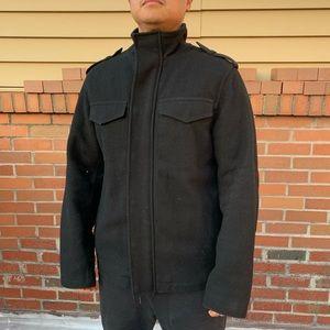 Wool Military Field Jacket